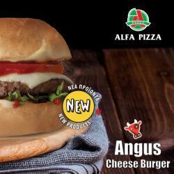 Angus Cheese Burger By Alfa Pizza
